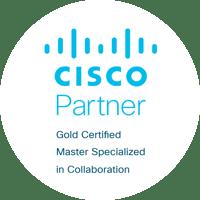 Cisco Partner Gold Logo Circle