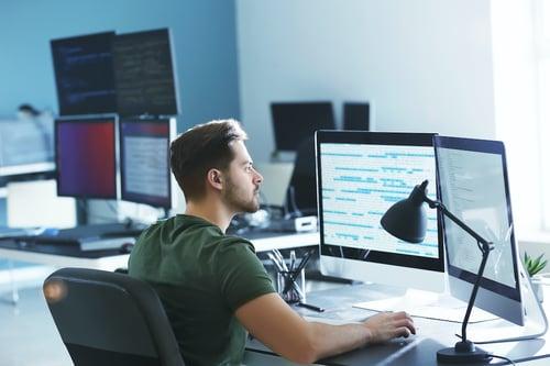IT office worker